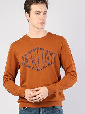 Изображение COLIN'S Оранжевый муж. Толстовки