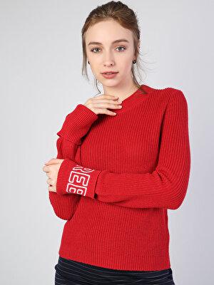Изображение Красный жен. Свитеры