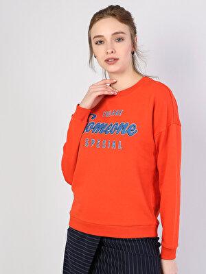 Изображение Оранжевый жен. Толстовки