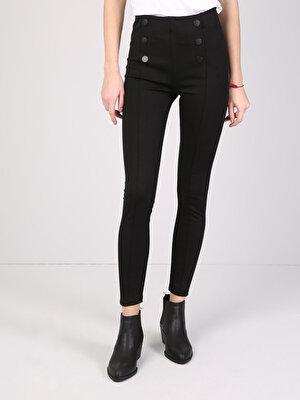 Изображение Черный жен. Спортивные брюки