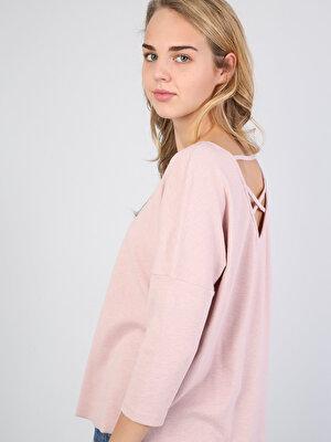 Изображение Розовый жен. Футболки Длинный рукав