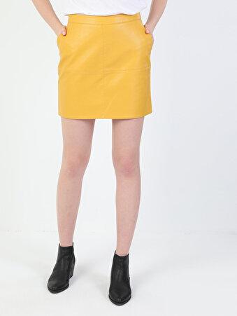Изображение Желтый жен. Юбки