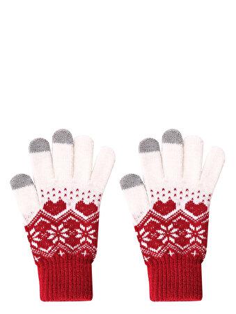 Изображение Красные Перчатки Женские
