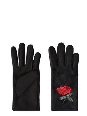Изображение Черные Перчатки Женские