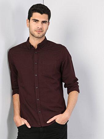 Изображение Пурпурный муж. Рубашки Длинний рукав
