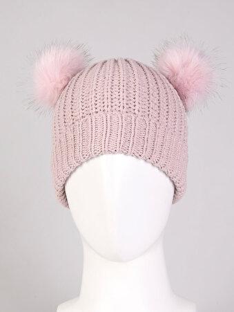 Изображение Розовая Женская Шапка