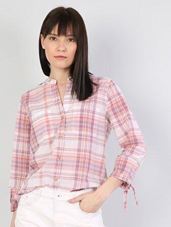 Изображение Лососевый жен. Рубашки Длинний рукав