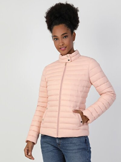 Изображение Розовый жен. Куртки