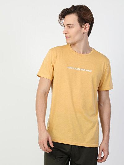 Изображение Желтый муж. Футболки Короткий рукав