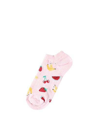 Изображение Розовый жен. Носки