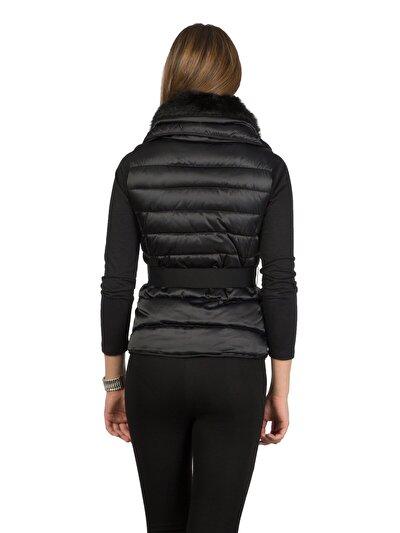COLINS черный женский жилеты<br>Пол: женский; Цвет: черный; Размер INT: XS;