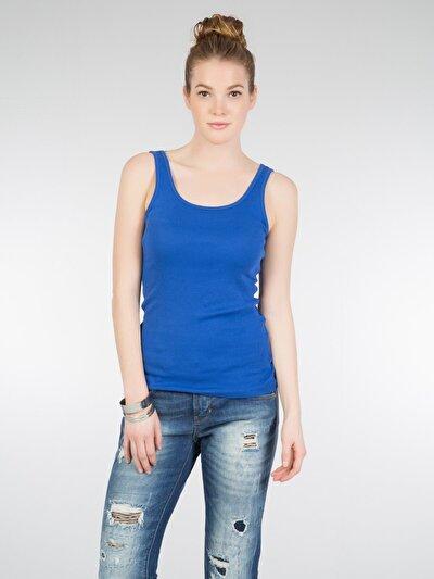 COLINS голубой <br>Пол: женский; Цвет: сакс голубой; Размер INT: S;