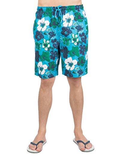 Купить со скидкой COLIN'S синий бирюзовый мужской пляжные шорты
