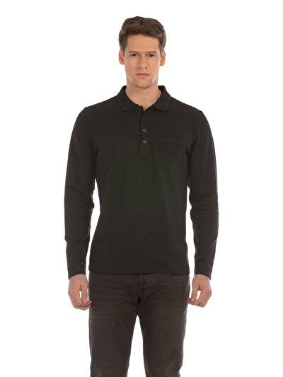 Купить со скидкой COLIN'S антрацит мужской футболки-поло д. рукав