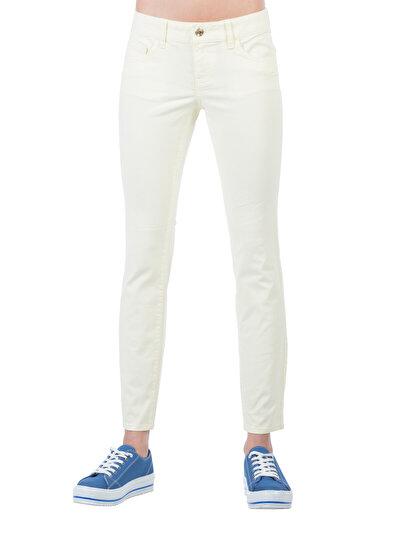 COLINS желтый женский брюки<br>Пол: женский; Цвет: светло-желтый; Размер INT: 29/30;