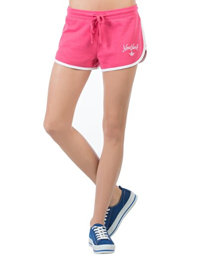 COLINS фуксия женский шорты<br>Пол: женский; Цвет: фуксия; Размер INT: L;