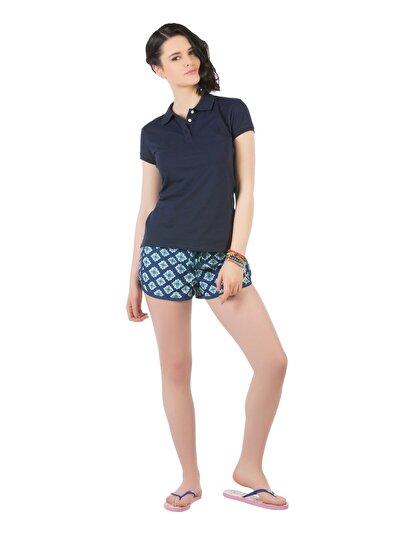 Фото #1: COLIN'S синий женский пляжные шорты