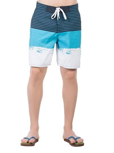 Купить со скидкой COLIN'S синий мужской пляжные шорты