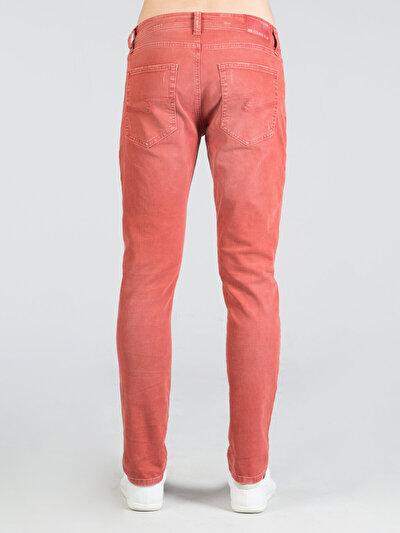 COLINS кораловый мужской брюки<br>Пол: мужской; Цвет: кораловый; Размер INT: 34/32;