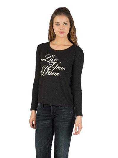 Купить со скидкой COLIN'S черный женский футболки длинный рукав