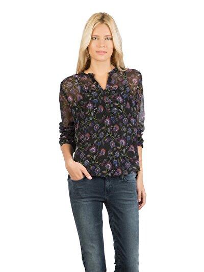 COLINS мульти женский рубашки длинний рукав<br>Пол: женский; Цвет: мульти; Размер INT: XS;