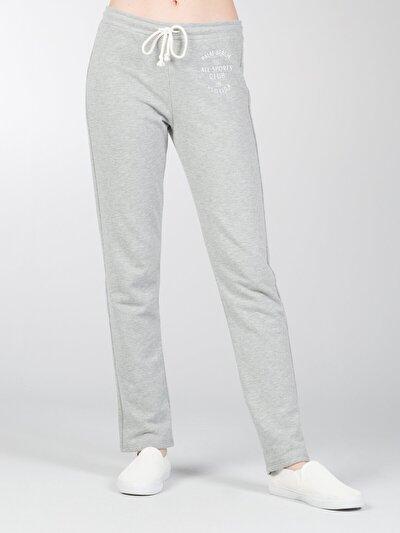 COLINS серый женский спортивные брюки<br>Пол: женский; Цвет: смешанный серый; Размер INT: XS;