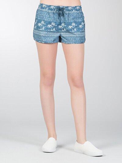 Купить со скидкой COLIN'S голубой   женский пляжные шорты