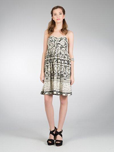 COLINS бежевый женский платья<br>Пол: женский; Цвет: бежевый; Размер INT: M;