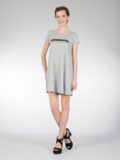 COLINS антрацит женский платья<br>Пол: женский; Цвет: смешанный антрацит; Размер INT: M;