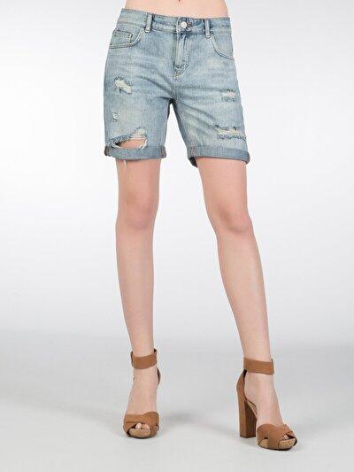 COLINS  женский шорты<br>Пол: женский; Цвет: мист мытый; Размер INT: 40;
