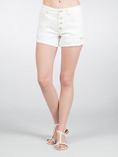COLINS  женский шорты<br>Пол: женский; Цвет: пайн уош; Размер INT: 40;