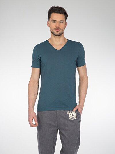 COLINS голубой <br>Пол: мужской; Цвет: топливо синий; Размер INT: XL;