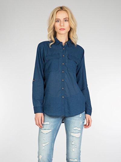 Купить со скидкой COLIN'S  женский рубашки длинний рукав