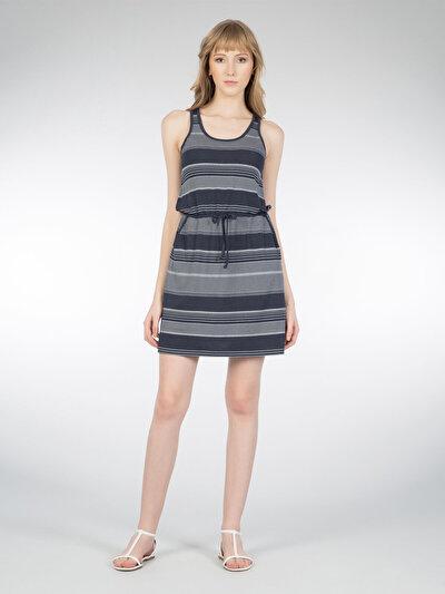COLINS синий женский платья<br>Пол: женский; Цвет: синий; Размер INT: S;