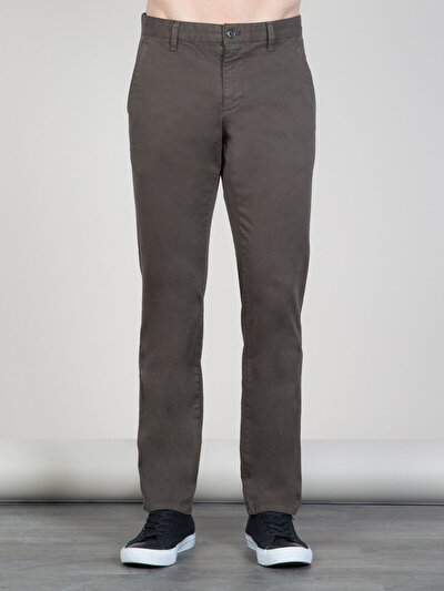 COLINS хаки мужской брюки<br>Пол: мужской; Цвет: хаки; Размер INT: 31/32;