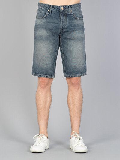 COLINS деним мужской шорты<br>Пол: мужской; Цвет: фрозер уош; Размер INT: S;