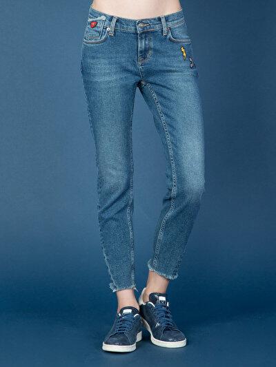 COLINS  женский брюки<br>Пол: женский; Цвет: блера уош; Размер INT: 30;