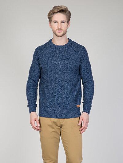 COLIN'S синий мужской свитеры
