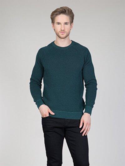 COLINS зеленый мужской свитеры<br>Пол: мужской; Цвет: зеленый; Размер INT: XXL;