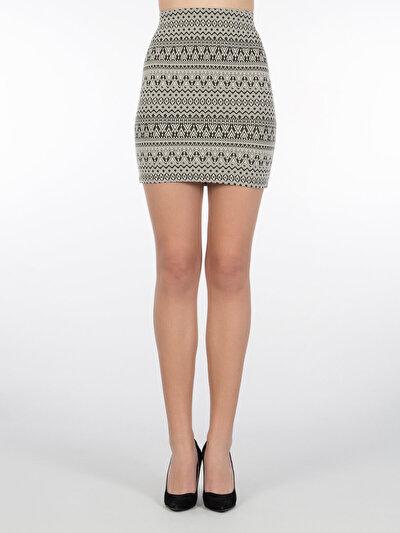 COLINS черный женский юбки<br>Пол: женский; Цвет: черный; Размер INT: XS;