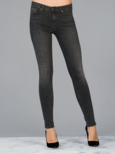 COLINS черный женский брюки<br>Пол: женский; Цвет: лайт опра уош; Размер INT: 27/32;