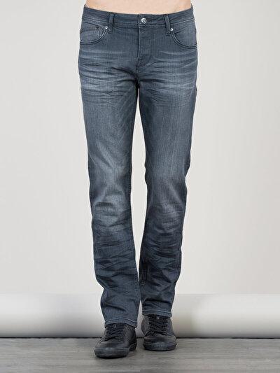 COLINS серый мужской брюки<br>Пол: мужской; Цвет: бордон уош; Размер INT: 32/32;