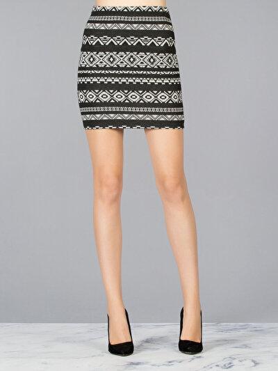 COLINS черный женский юбки<br>Пол: женский; Цвет: черный; Размер INT: S;