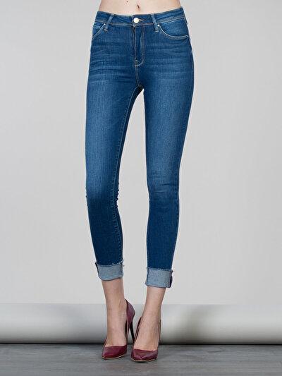 COLINS  женский брюки<br>Пол: женский; Цвет: лиана уош; Размер INT: 26/30;