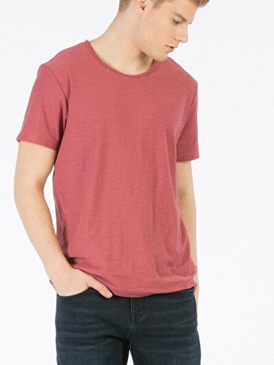 COLINS красный мужской футболки короткий рукав<br>Пол: мужской; Цвет: кирпичный; Размер INT: XL;