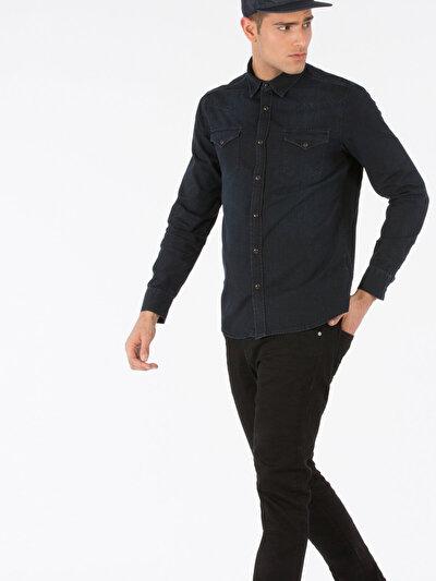 COLINS  мужской рубашки длинний рукав<br>Пол: мужской; Цвет: адриано вош; Размер INT: XXL;