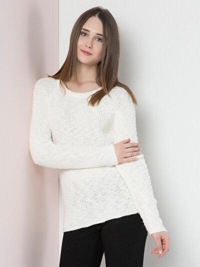 COLINS бежевый женский свитеры<br>Пол: женский; Цвет: бежевый; Размер INT: XS;