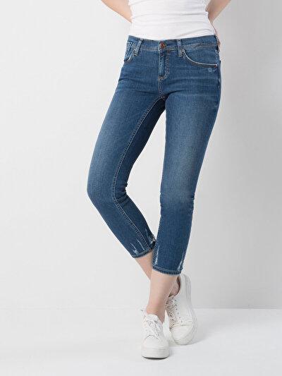 COLINS  женский брюки<br>Пол: женский; Цвет: линне уош; Размер INT: 29;