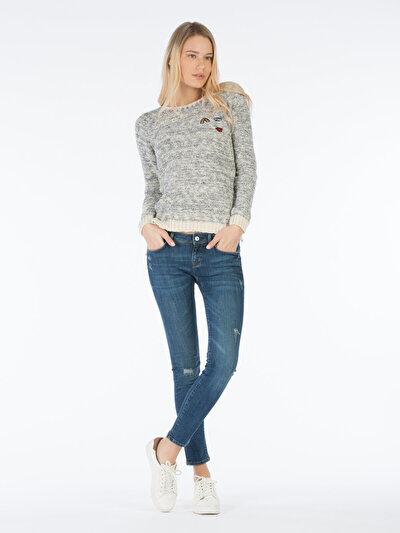 COLINS  женский брюки<br>Пол: женский; Цвет: алси уош; Размер INT: 27/30;