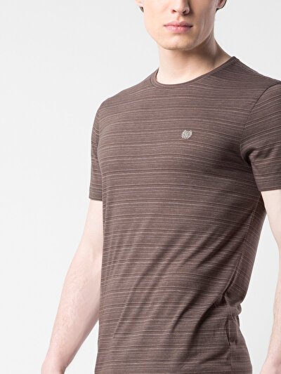 COLINS антрацит мужской футболки короткий рукав<br>Пол: мужской; Цвет: антрацит; Размер INT: S;